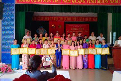 Dự lễ tổng kết Hội thi giáo viên dạy giỏi cấp tiểu học huyện Đại Lộc -Năm học 2017-2018